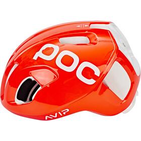 POC Ventral Spin Kask rowerowy, zink orange avip